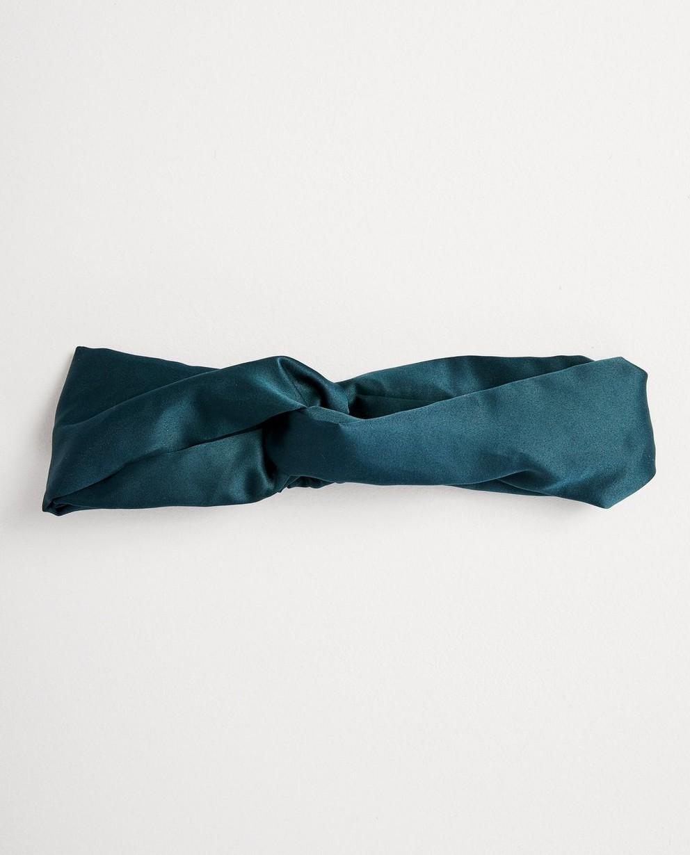 Grünes Haarband - gekreuzt - JBC