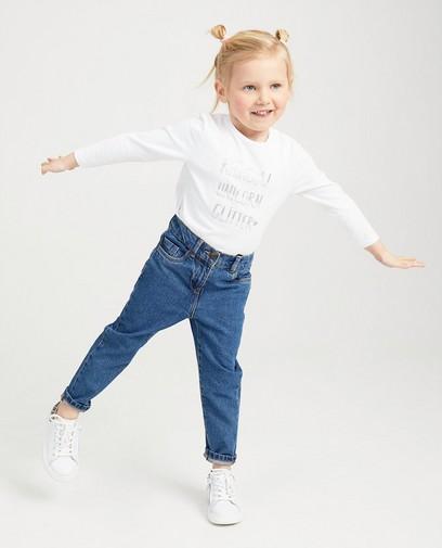 Wit shirt met opschrift BESTies