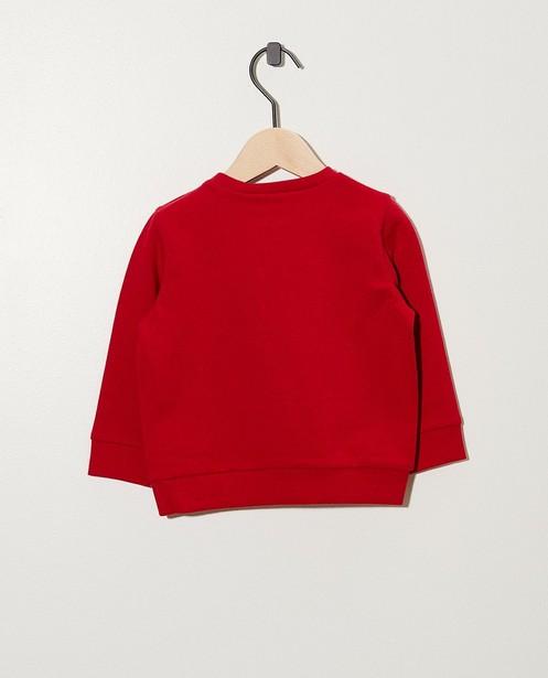 Sweats - rood fel -