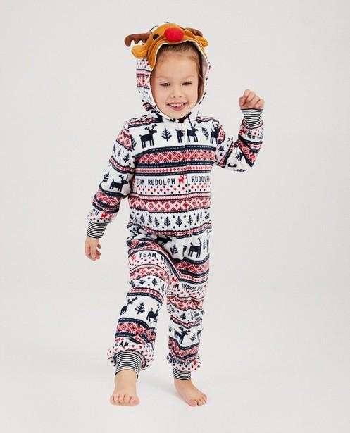 Combinaison Rudolphe, 2-7 ans - en fleece - JBC