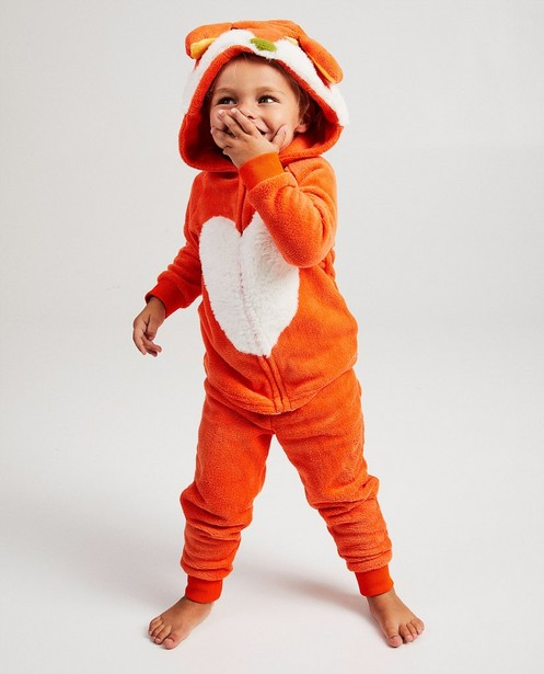Pyjama orange De Fabeltjeskrant - Lowieke de Vos - Fabeltjeskrant