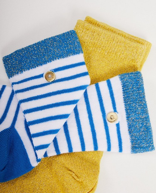 Chaussettes - turquise -