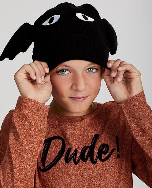 Bonnet noir, chauve-souris - Halloween - JBC