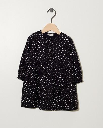 Schwarzes Kleid mit Sternen