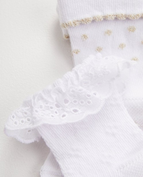Chaussettes - white -