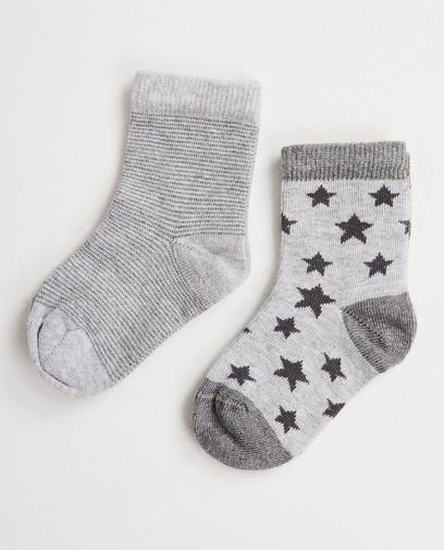 2 paires de chaussettes pour bébés