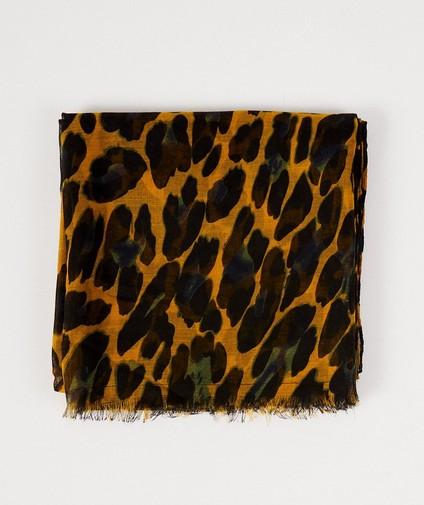 Sjaal met luipaardprint Pieces