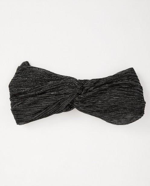 Bandeau noir Pieces - fil métallisé - Pieces