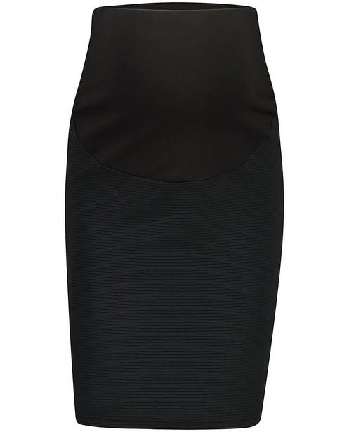Zwarte kokerrok JoliRonde - zwangerschap - Joli Ronde