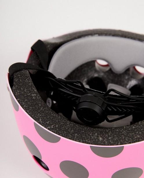Gadgets - Roze helm met stippen