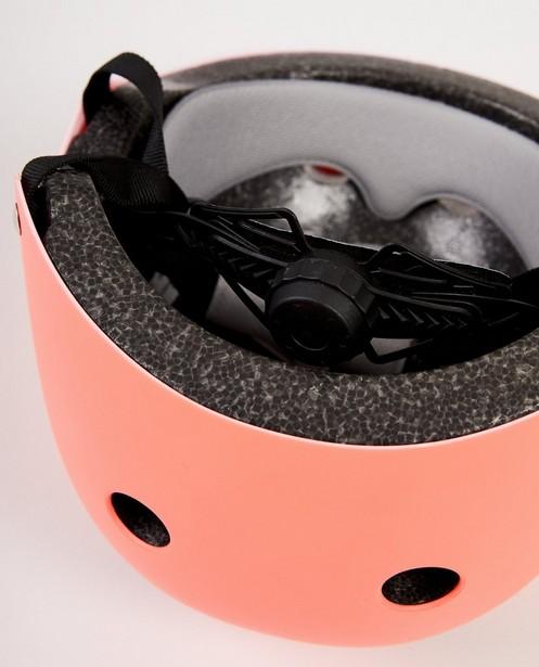 Gadgets - ASM - Roze helm met hoofdtelefoonprint