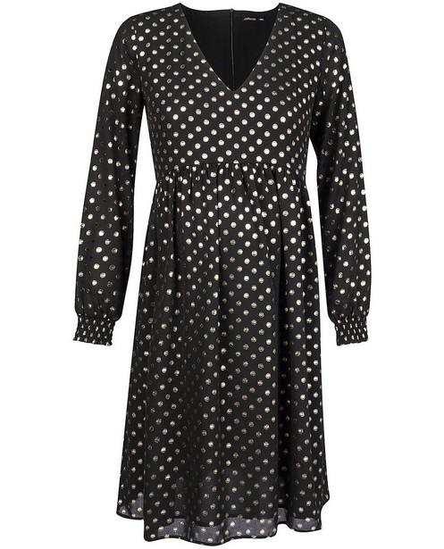 Robe noire à pois JoliRonde - grossesse - Joli Ronde