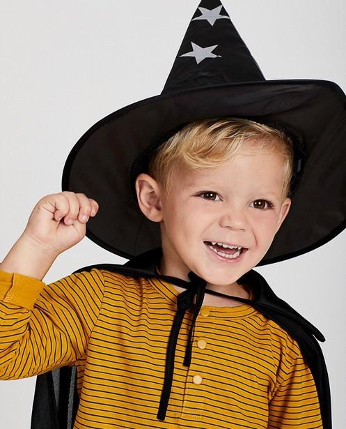 Chapeau + cape de magicien noirs - Halloween - JBC