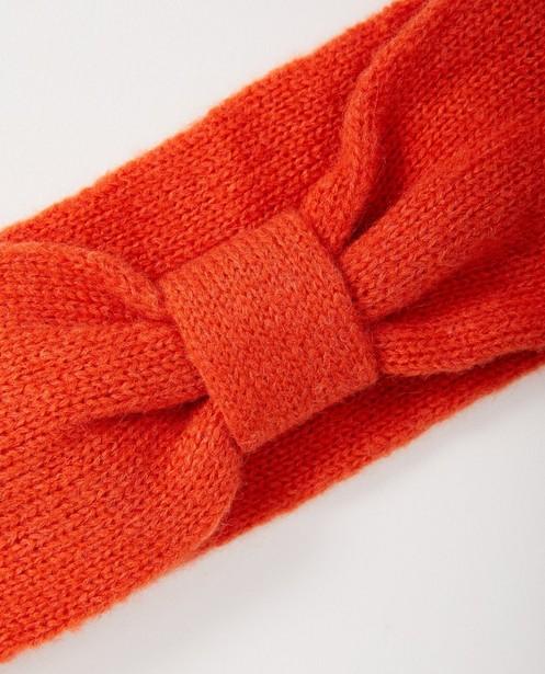 Breigoed - RDF - Oranje haarband #Like Me