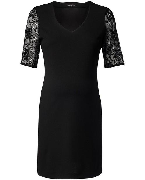Zwarte jurk met kant JoliRonde - zwangerschap - Joli Ronde