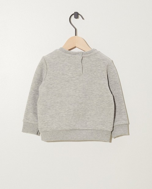 Sweats - Pull gris clair «Little one»