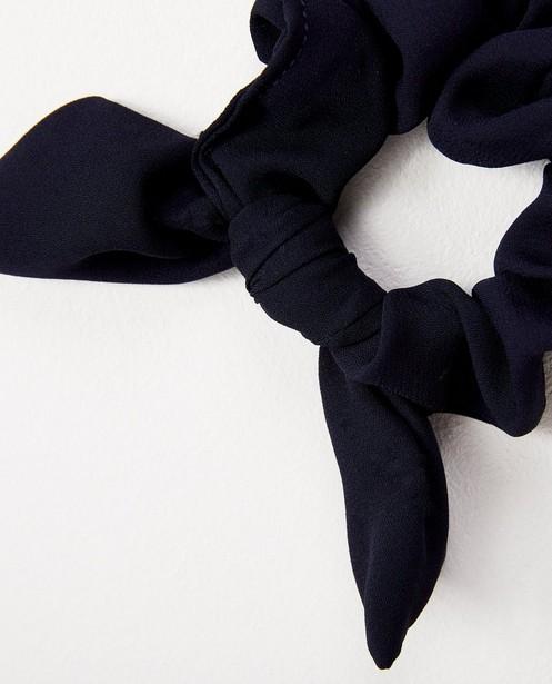 Chouchou avec nœud - bleu - JBC