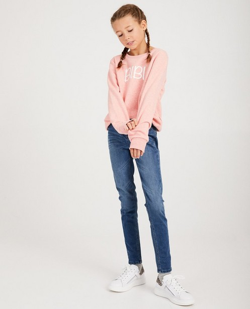 Roze 'bibi'-sweater - familystoriesJBC - JBC