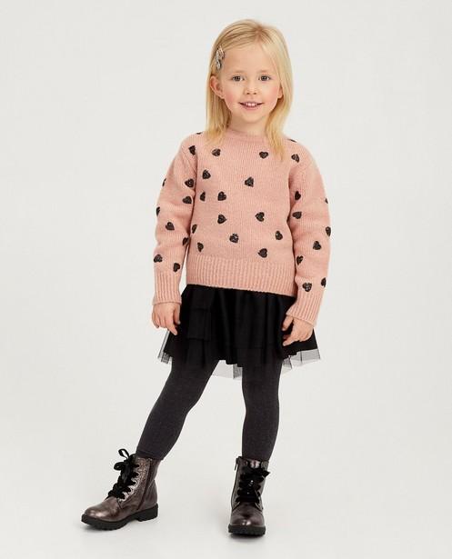 Jupe rose avec du tulle - Taille élastique - Milla Star