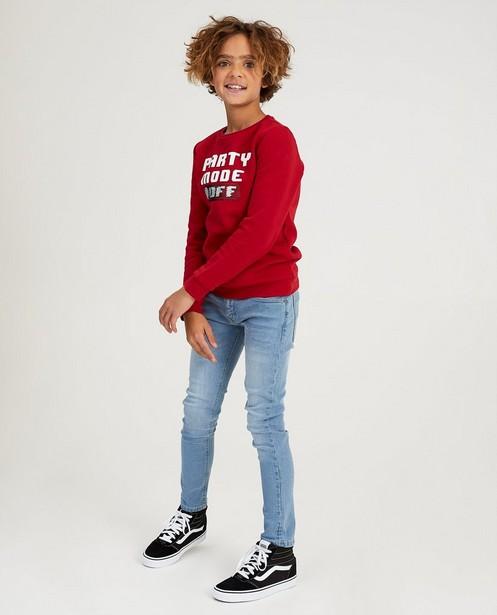 Jeans bleu, 7-14 ans - délavé - JBC