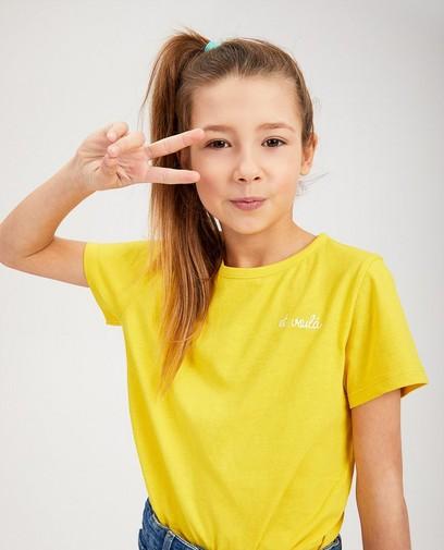 T-shirt jaune BESTies