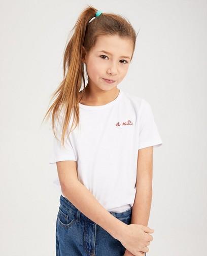 T-shirt blanc BESTies
