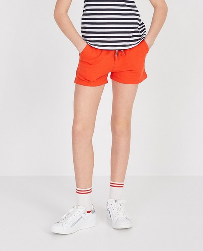 Korte short in rood BESTies
