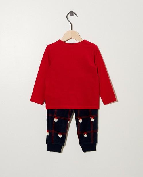 Pyjamas - rood fel -