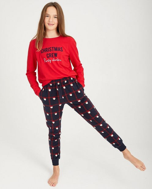 Pyjama de Noël rouge - #familystoriesJBC - JBC