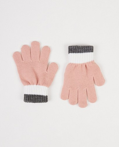 Rosa Handschuhe