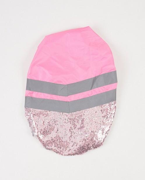 Roze rugzakcover met pailletten - Funlab - JBC