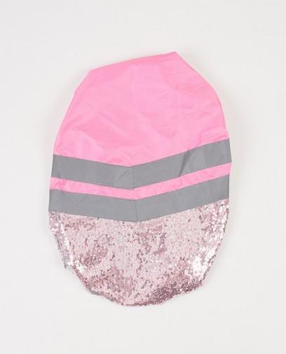 Housse sac à dos rose