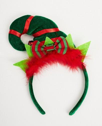 Groene elf-haarband