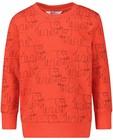 Sweats - Gele sweater met print BESTies