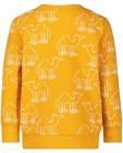 Sweaters - Gele sweater met print BESTies