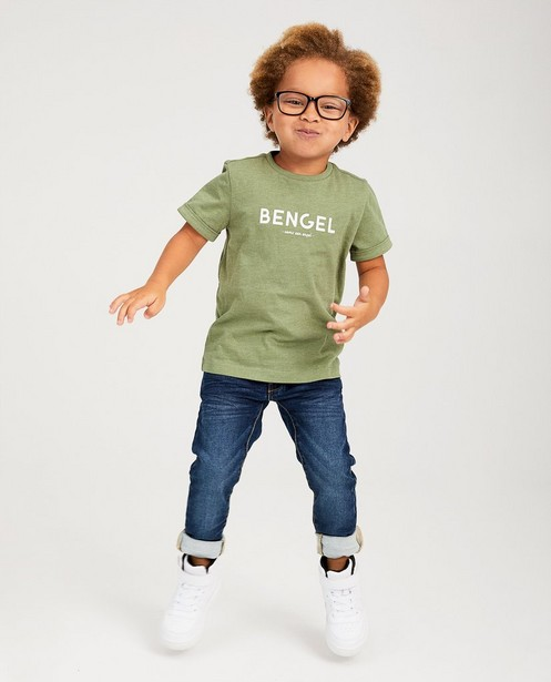 Skinny bleu foncé JOEY, 2-7 ans - légèrement délavé - JBC
