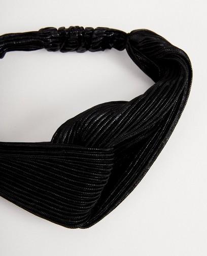 Bandeau noir à plis