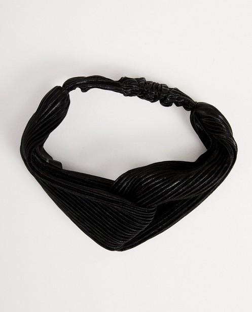 Bonneterie - black - Bandeau noir à plis