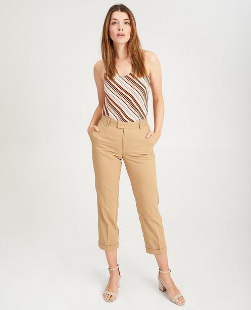 Pantalon beige Sora - habillé - Sora