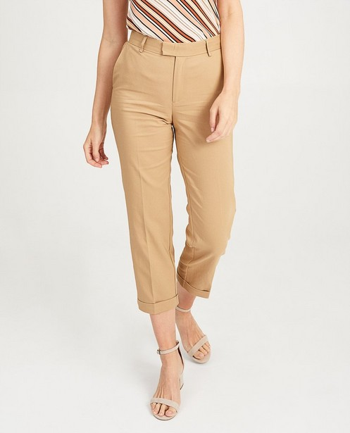 Pantalons - light beige -