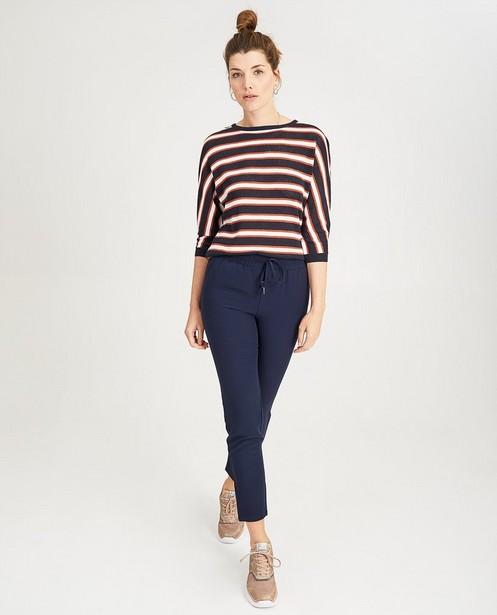 Pantalon bleu Sora - coupe courte - Sora