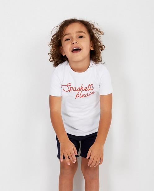 T-shirts - T-shirt met opschrift BESTies