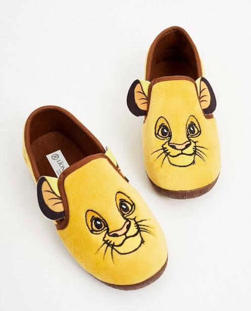 Pantoufles jaunes du Roi Lion - Disney - Mickey