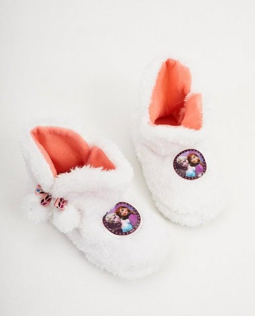 Pantoufles blanches Disney - La Reine des Neiges - Mickey