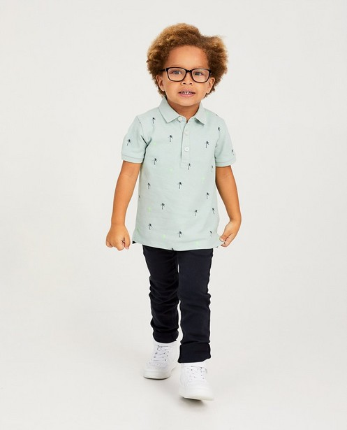 Sweat denim bleu, 2-7 ans - coton bio - kidz