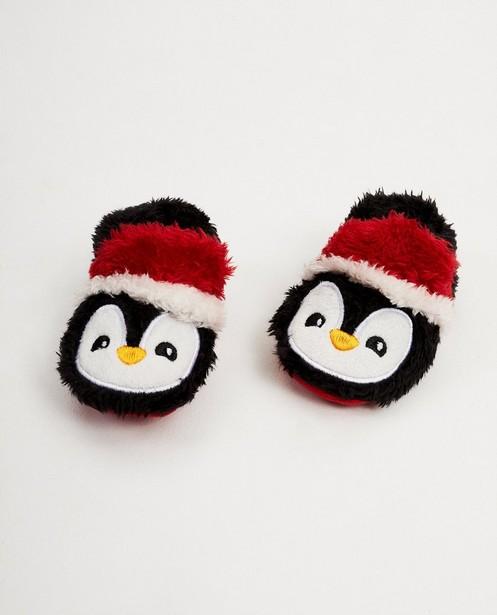 Pinguin-Pantoffeln - Merry Christmas - JBC