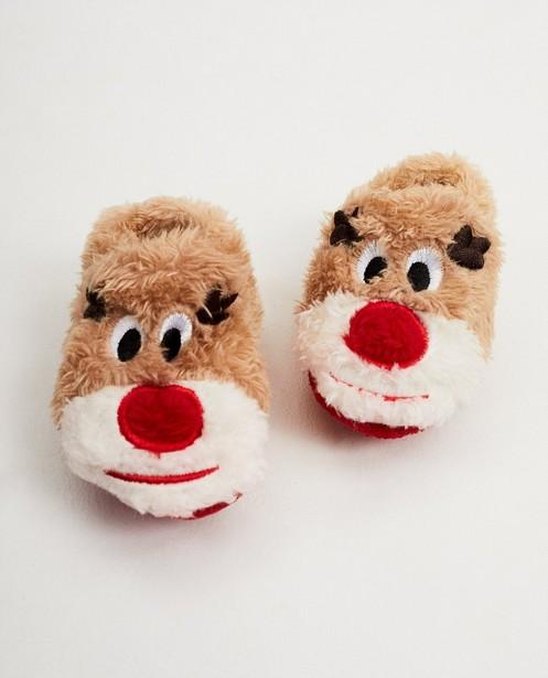 Rudolf-pantoffeltjes - Merry Christmas - JBC NL