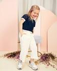 Pantalons - Witte culotte Communie