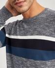 Truien - Gestreepte trui van fijne tricot
