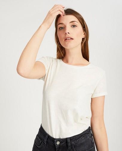 Zwart T-shirt met glitter Sora